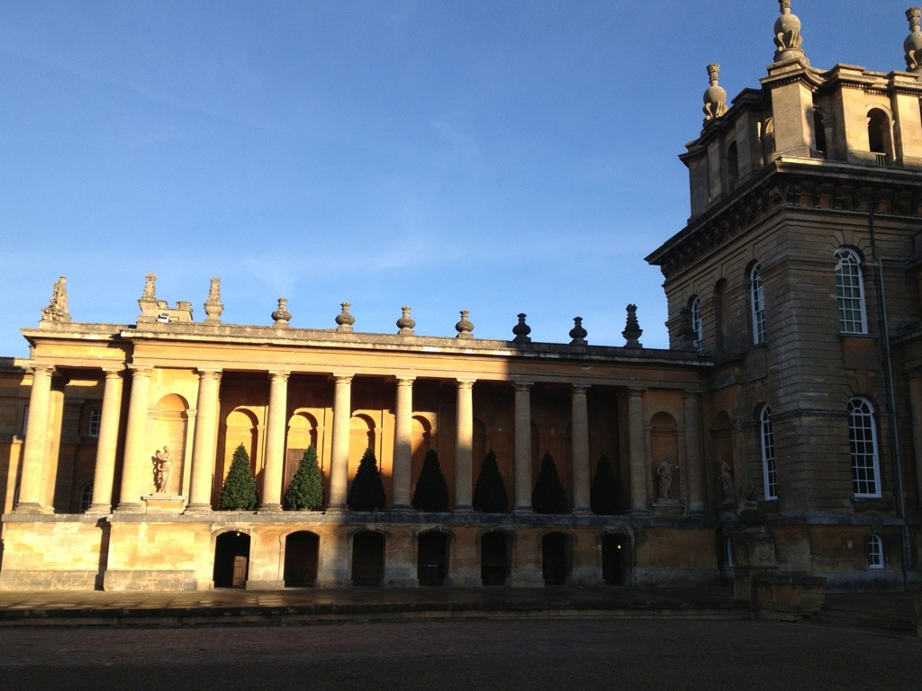 Blenheim Palace at Christmas