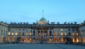 A little of Somerset House. Natasja and I imagined that each family member lived in their own wing