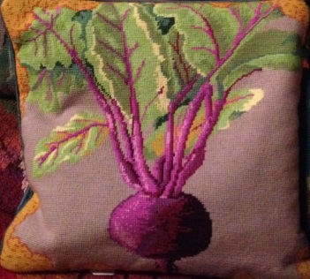 I always loved Kaffe's veg cushions